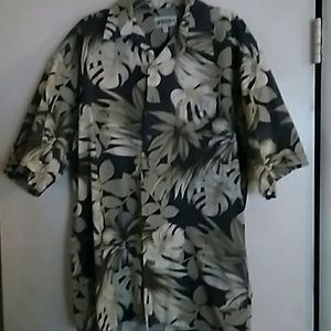 Campia Moda Hawaiian shirt Short Sleeve Large